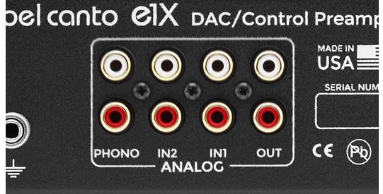 main DAC analog detail