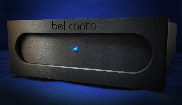 Bel Canto Black Faceplate